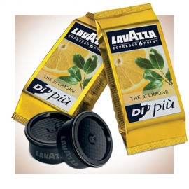Capsule originali e compatibili Lavazza Espresso Point gusto The al limone confezione da 50, capsule lavazza espresso point